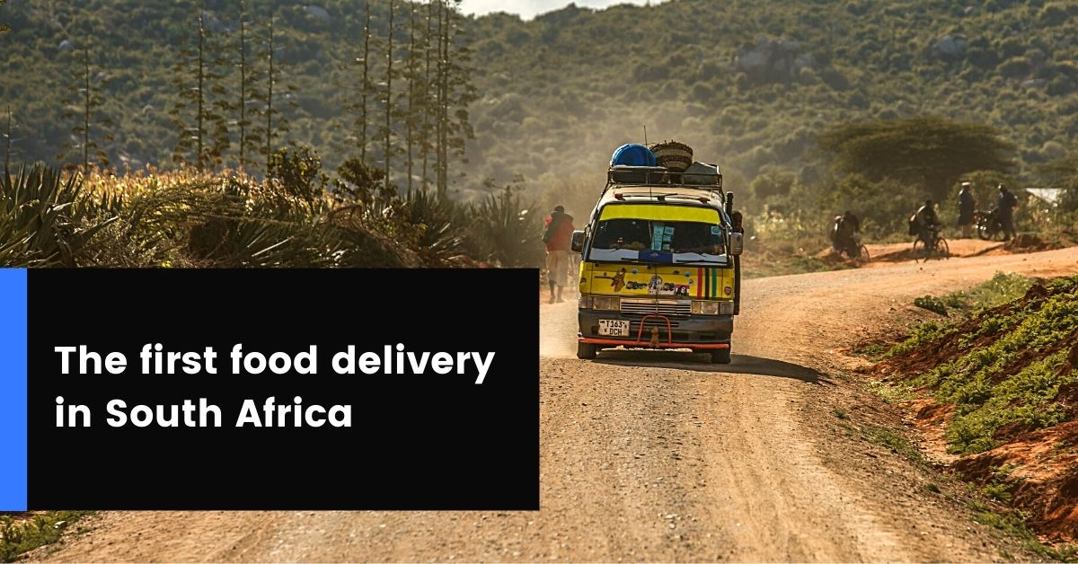 How digital mapping led to the first food delivery in SouthAfrica