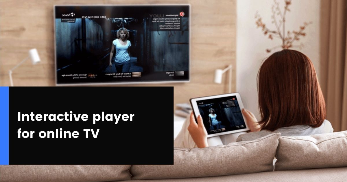Interactive player for sports and music channels