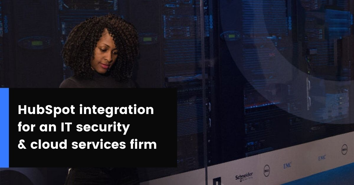 HubSpot integration for Procano IT & cloud services company