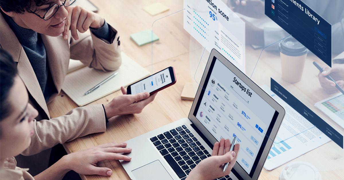 Intelligent data management platform for VC investors