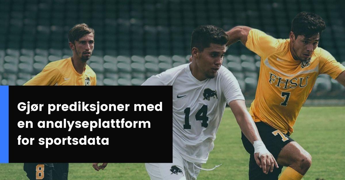 Intelligente prediksjoner fra sports dataanalyse-plattform